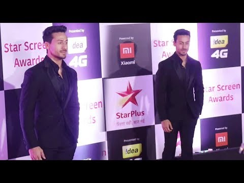Tiger Shroff  At Star Screen Awards 2018