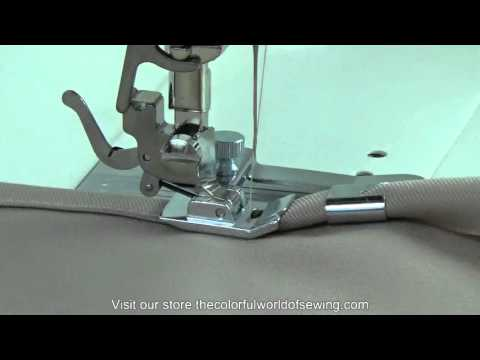 Sewing Basic & Creative Hems with the Wide Hemmer Foot Set