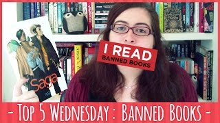 Top 5 Banned Books - Top 5 Wednesday