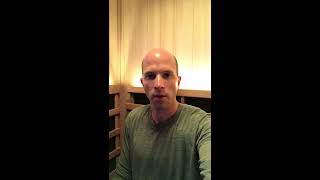 Steve Talks About The Benefits From Using His Jacuzzi® Infrared Sauna