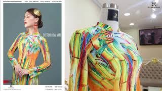 Những mẫu áo dài đẹp cuốn hút 2021 | Áo Dài Đỗ Trịnh Hoài Nam