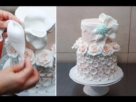 Rose Icing Cake Decoration