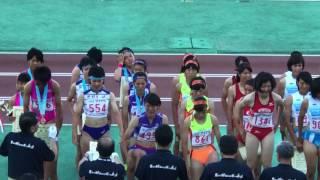 2017.8.2 山形インターハイ 女子 4×400mR 表彰式