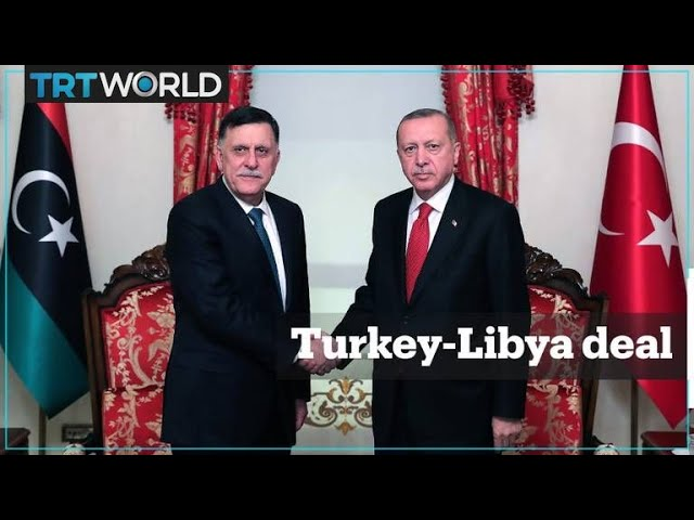 Why has Turkey signed a maritime deal with Libya?