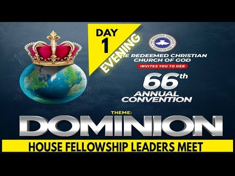 RCCG 2018 HOLY GHOST CONVENTION_#Day1- Evening