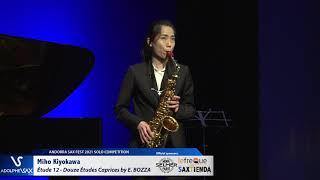 Miho Kiyokawa plays Étude 12 – Douze Études Caprices by Eugène BOZZA