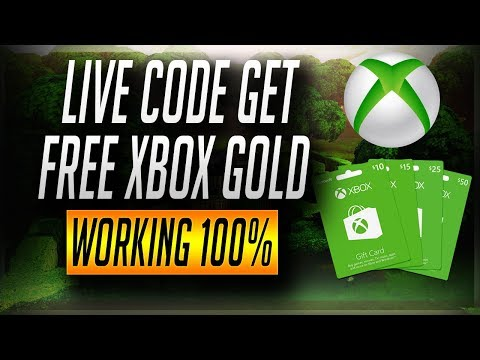 How To Free Xbox Game 12 Month-Live Code Get Free Xbox Gold