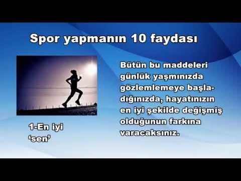 Spor Yapmanın 10 Faydası
