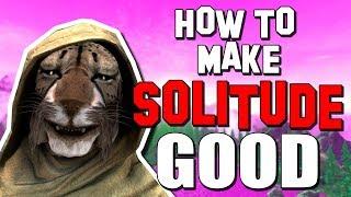How to make Solitude actually good in Skyrim!