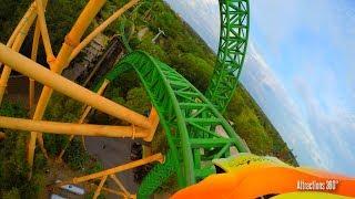 [4K] Cheetah Hunt High Speed Roller Coaster POV - Busch Gardens Tampa