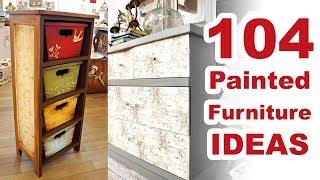 104 Painted Furniture Ideas