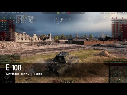 World of Tanks - German Tech Tree - Heavy tank – E100 – Hinterland