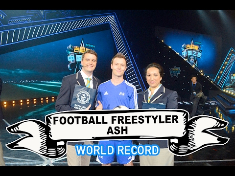 Football Freestyler Ash Video