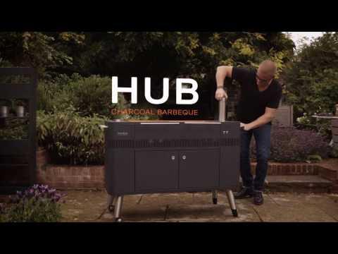 Everdure Hub houtskool barbecue