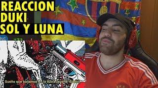 DUKI   Sol Y Luna (Video Lyrics) (REACCIÓN)