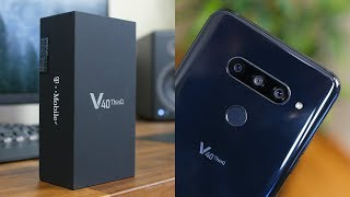 LG V40 ThinQ Unboxing and First Look