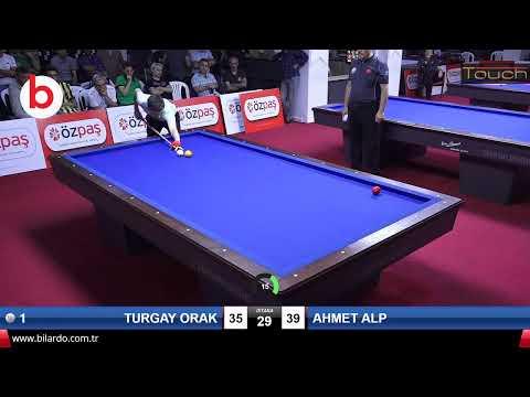 TURGAY ORAK & AHMET ALP Bilardo Maçı - SAKARYA ÖZPAŞ CUP 2019-FİNAL 1/8