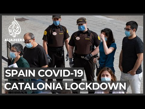 Catalonia locks down 200,000 over coronavirus outbreak