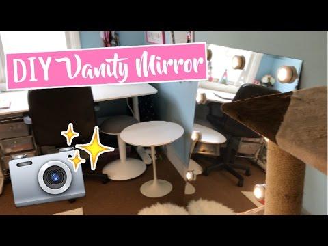DIY Light Up Vanity Mirror | itzamanda