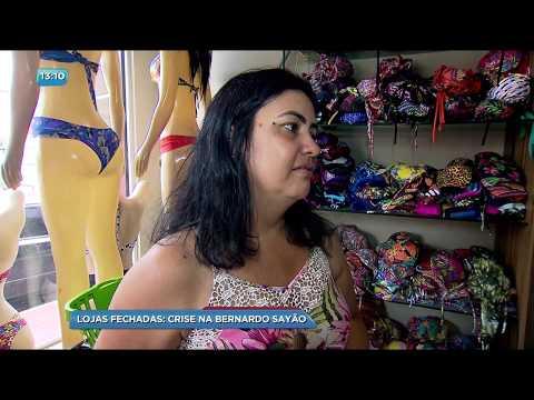 BG - Lojas fechadas: Crise na Bernardo Sayão - 05-12-2017