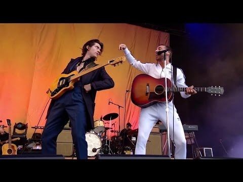 The Last Shadow Puppets - Aviation @ T in the Park 2016 - HD 1080p
