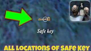 All Locations of the Safe Key | Granny 3