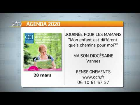Agenda du vendredi 21 février 2020