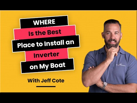 Where Is the Best Place to Install an Inverter On my Boat?