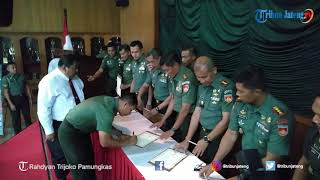 Penandatanganan Pencanangan Zona Integritas Kodam IV Diponegoro