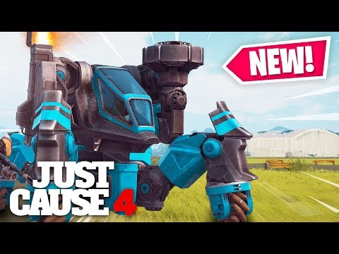Just Cause 4 - MECHS ARE OFFICIAL! Black Market new vehicles update