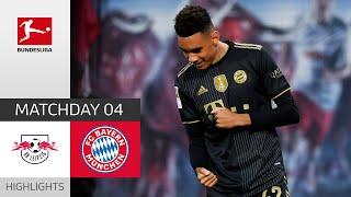 RB Leipzig 1-4 FC Bayern München Pekan 4