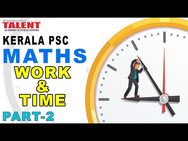KERALA PSC | ASSISTANT GRADE| CPO | MATHS -WORK AND TIME PART 2