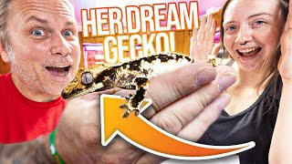 SURPRISING HER WITH HER DREAM GECKO!! | BRIAN BARCZYK