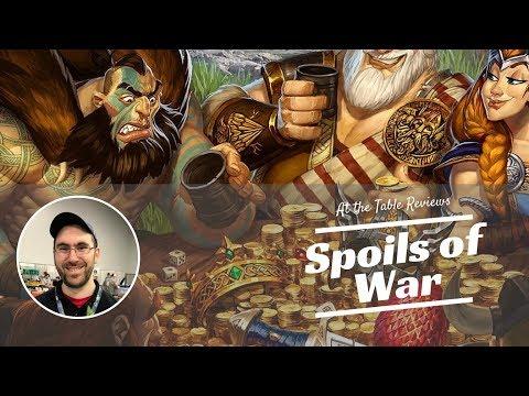 Spoils of War Review | BGA At the Table Reviews