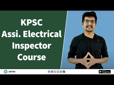 KPSC Assistant Electrical Inspector Online Coaching Intro - YouTube