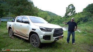 ลอง Toyota Hilux Revo 2.8 GR Sport ไช่วงล่างโคตรนุ่ม!! เครื่องอย่างแรง ไม่ชอบทางฝุ่น ไม่ใช่ WRC แล้ว