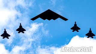 """""""Salute to America"""" Flyovers - Amazing Military Formations!"""
