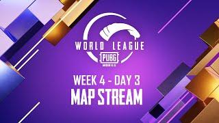 MAP Stream - W4D3 League Finals | PUBG MOBILE WORLD LEAGUE SEASON ZERO - 2020