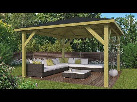 Tuin Met Overkapping : Overkapping voor uw tuin blokhutvillage