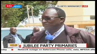 Aspirants in Elgeyo-Marakwet claim there are irregularities prior to the counting of the votes