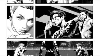 Avengers #11: Mike Deodato Penciling Characters - Marvel AR