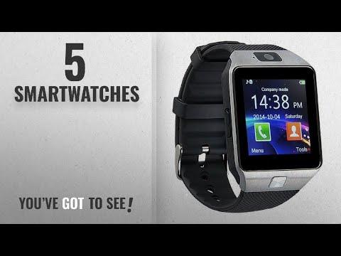 Top 10 Smartwatches [2018]: GZDL Bluetooth Smart Watch DZ09 Smartwatch Watch Phone Support SIM TF