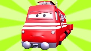 Pociąg  | Samochody & Ciężarówki bajka dla dzieci