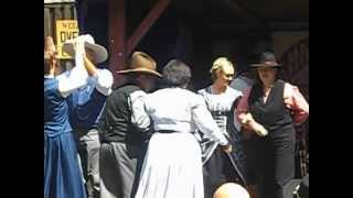preview picture of video 'Wild, Wild West an der Isar von München Thalkirchen'