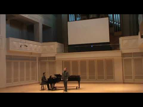 """Watch (Murphy)"" from A Question of Light by Jake Heggie