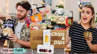 British People Trying American Chips, Dips & Snacks - This With Them