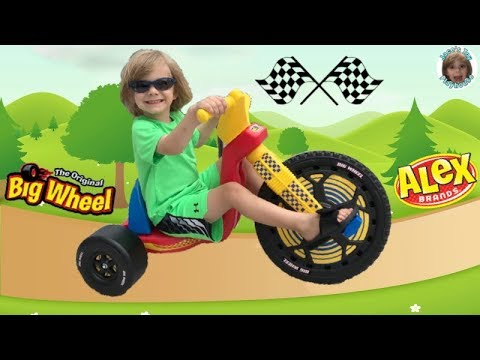 "Alex Brands Big Wheel 16"" Classic Racer Unboxing 4K Low Riding Tricycle"