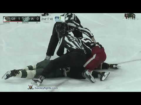 Brandon Duhaime vs. Givani Smith