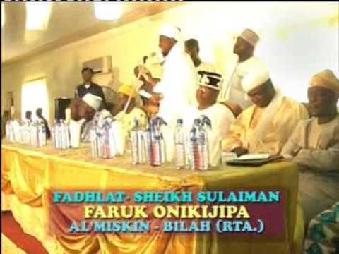 ASEDANU EDA - Fadilat Sheikh Sulaimon Faruq Onikijipa