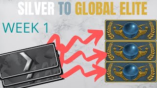 Silver to Global Elite: Week 1 (HOW TO LEARN 2X FASTER)